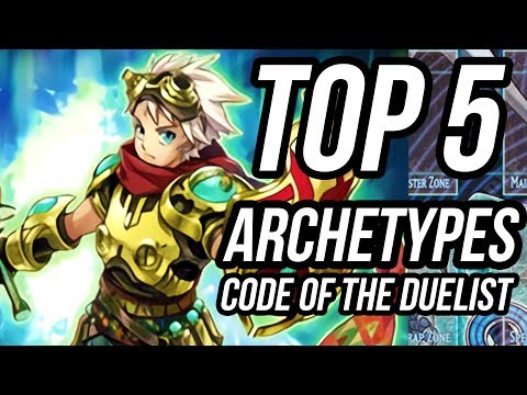 Top 5 New Archetypes from Code of the Duelist!