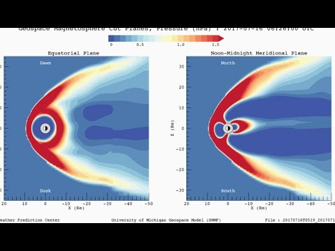 Solar CME Shockwave Hits Magnetosphere | S0 News July.16.2017