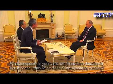 FULL Interview by Russian president Putin to Japanese media