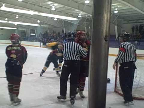 pictou hockey fight