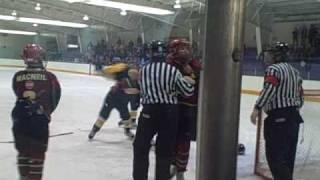 pictou hockey fight