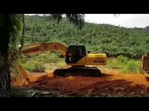 SUMITOMO WORKING, Excavator New Model 2018