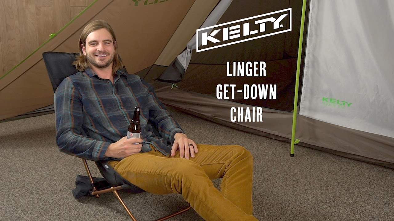 Kelty Linger Get Down Chair Youtube