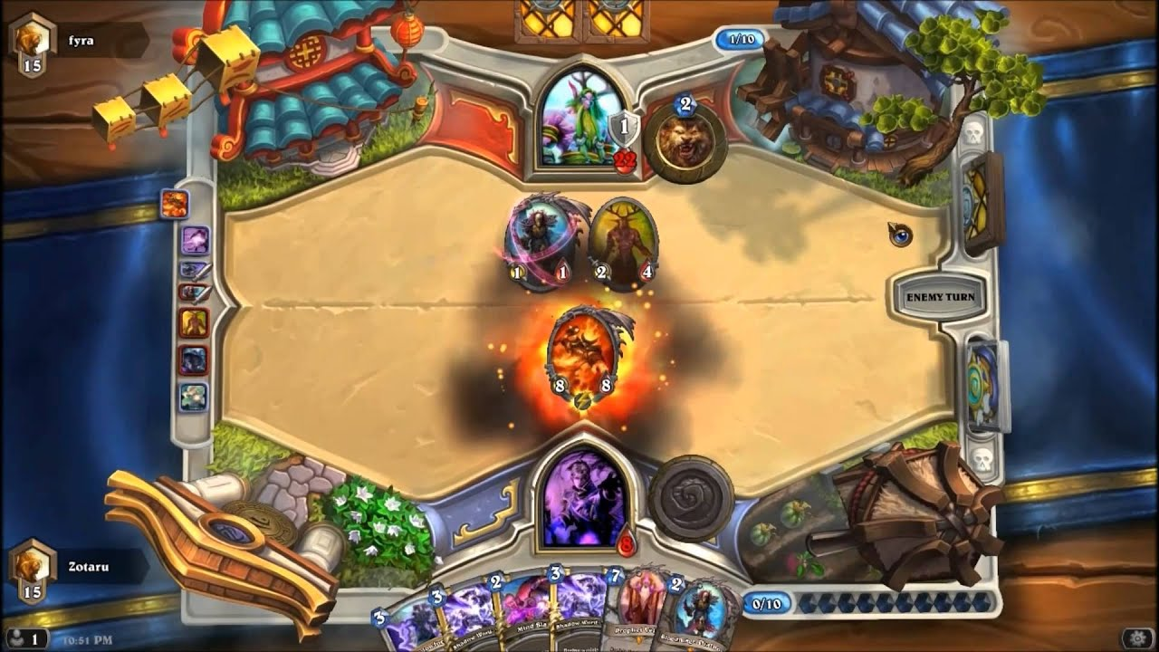 Shadowform Priest gets 500 Wins | Hearthstone - YouTube