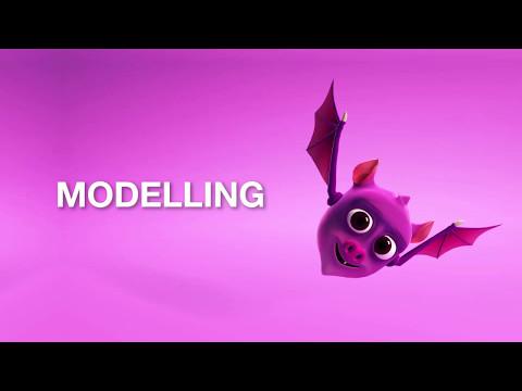Basic 3D Bat Character Part 2 - Modelling