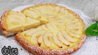 Сладкое за 5 минут! Вы будете делать этот яблочный десерт каждый день! Без масла
