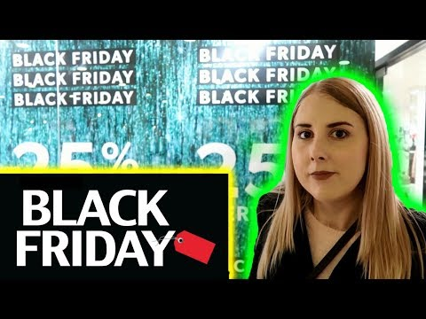 WHAT BLACK FRIDAY IS LIKE IN THE UK