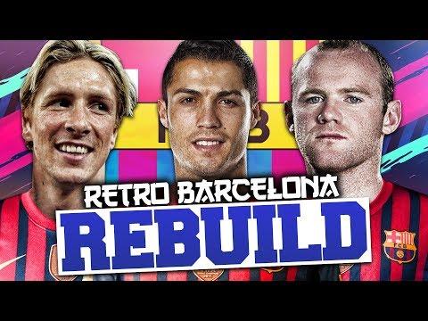 REBUILDING 2011/12 BARCELONA!!! FIFA 12 Career Mode (RETRO REBUILD)