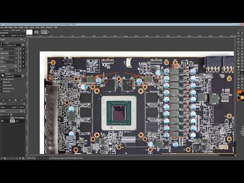 GPU PCB Breakdown: Powercolor RX 5700 XT Red Devil
