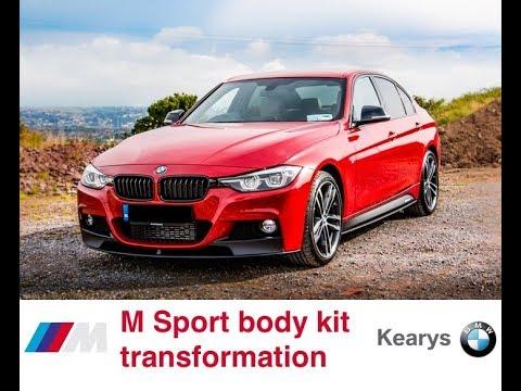 Bmw 3 Series M Sport Body Kit Transformation