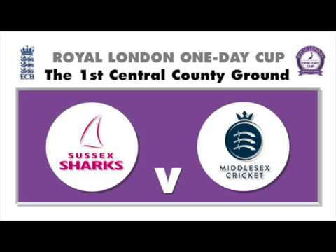 Sussex Sharks v Middlesex - Royal London One-Day Cup