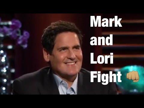 Mark Cuban and Lori Greiner Fight  Shark Tank