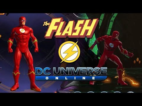 How To Make The Flash In DC Universe Online