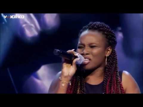 Lory chante Mmm de Laura Izibor dans TheVoice Afrique Francophone