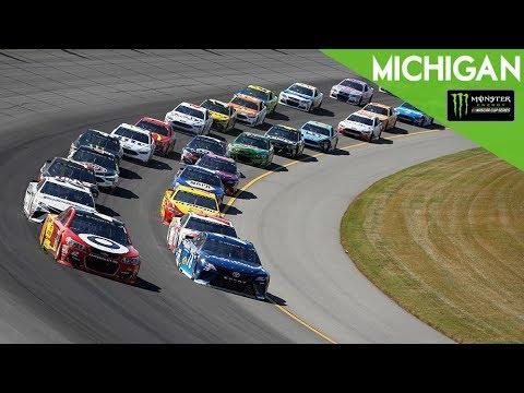 Monster Energy NASCAR Cup Series- Full Race- FireKeepers Casino 400