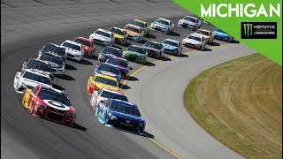 Monster Energy NASCAR Cup Series- Full Race- FireKeepers Casino 400