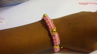Diy Beaded Helloberry Inspired Friendship Bracelet Tutorial