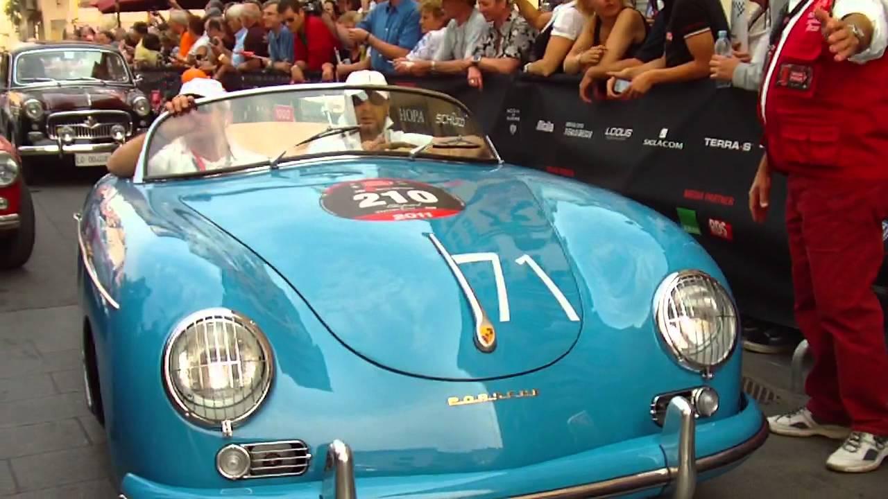 Mille Miglia 2011 Part 32 Bmw 328 Porsche 356