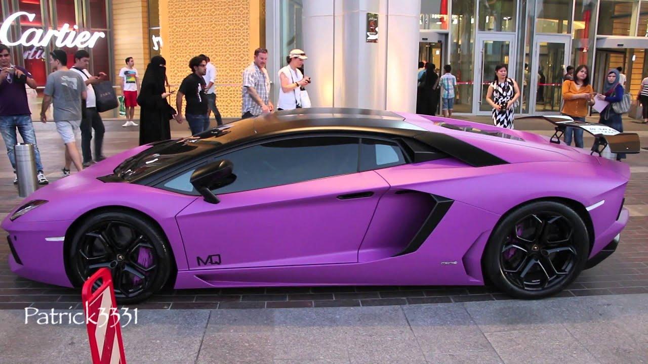 purple lamborghini aventador lp700 4 with oakley design rear wing youtube - Lamborghini Aventador Chrome Purple