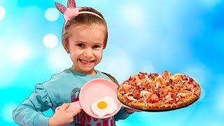Lika Pretend Play Toy Cafe\BARBIE HOUSE Playgroud for kids with Joy Joy Lika