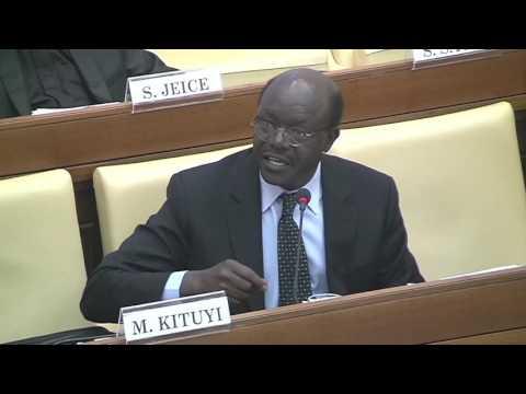 Mukhisa Kituyi   Inclusive Solidarity and Integration of Marginalized People