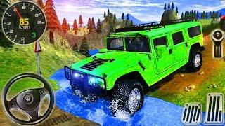Offroad Çekiç Kamyon 4x4 Sürüş - Jeep SUV Dağ Sürücü Simülatörü - Android GamePlay # 2