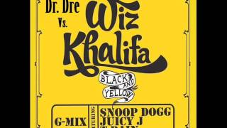 Dr Dre Vs. Wiz Khalifa, Snoop Dogg, Juicy J & T-Pain - Break Ya Yellow G Mix (Eye Scream Bootleg)