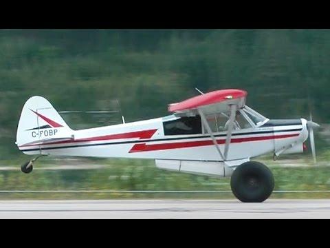 Piper PA-18 Super Cub Replica STOL Takeoff