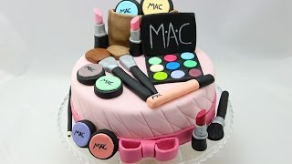 Make Up Cake I Make Up Torte I Make Up Kuchen I how to make a make up cake