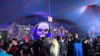 Hardshock Festival 2014 @ Wijthmenerplas, Zwolle - Frenchcore/Terror - Sandy Warez - Part 3
