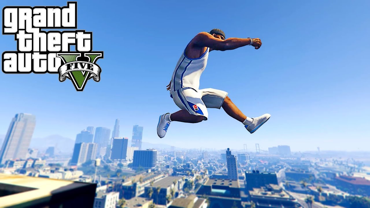 GTA 5 - Best Parkour WINS #1 (Rooftop Parkour, Parkour Compilation, POV)