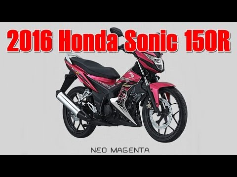 honda new sonic 150r repsol cbr