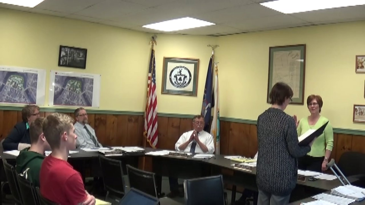 Champlain Village Board Meeting 4-3-17