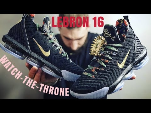 promo code fc25e 4547c NIKE KILLED THIS!!!!(LEBRON 16 WATCH THE THRONE)IN HAND REVIEW!!!BEST LEBRON  COLORWAY IN YEARS