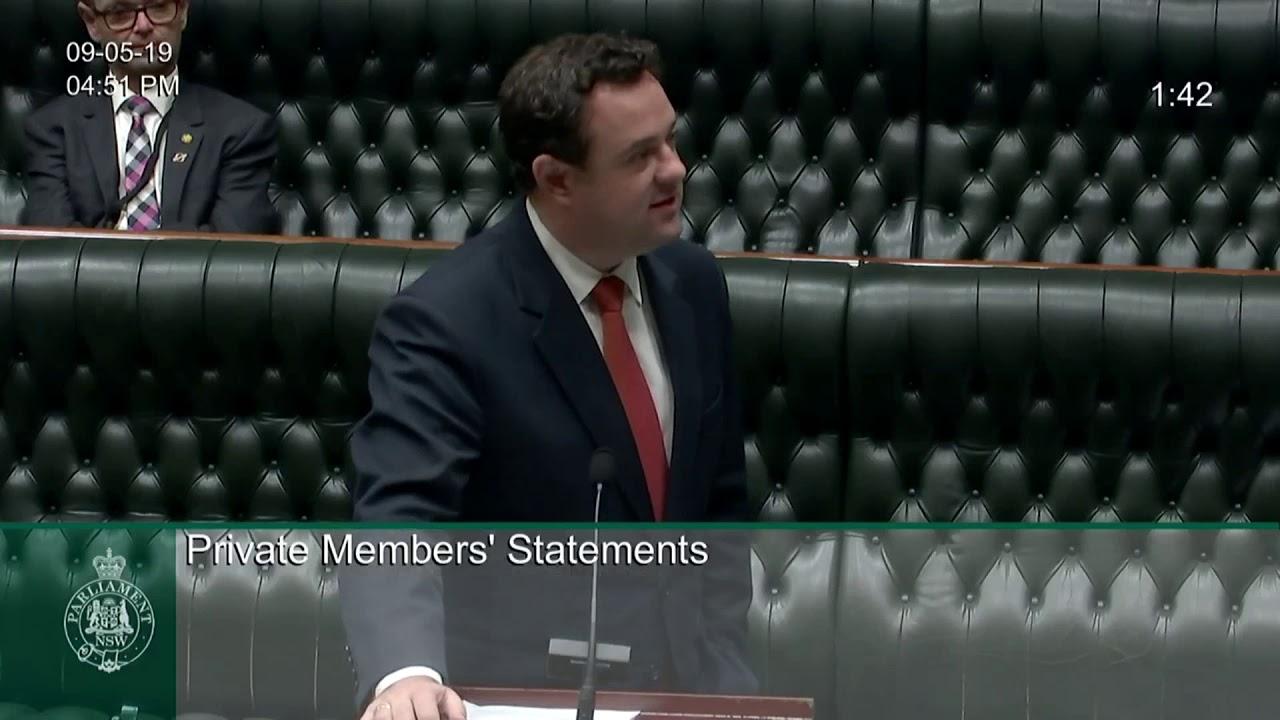 Stuart Ayres MP, Member for Penrith