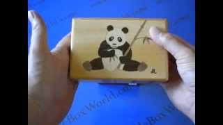 The 5 Sun 21 Step And 27 Step Panda Japanese Puzzle Boxes Are Simply Beautiful!