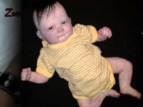 Zombie Reborn Baby Evan By Albesa Loa Mexican Dollmaker