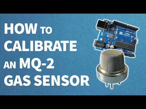 How to calibrate an MQ-2 gas sensor || Arduino tutorial