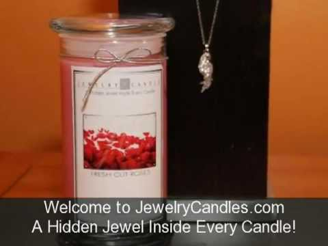 Jewelry Candles Natural Soy Wax  Scented Candles With Hidden Jewels !