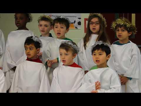 Wishing You A Merry Christmas - Saint bridget School -2017