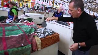 Савелий Либкин и Сергей Жданов на Привозе