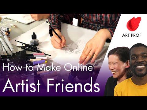 How To Find Artist Friends Online