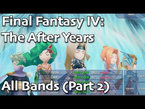 Final Fantasy IV: The After Years IOS - All Bands (2 Of 2)