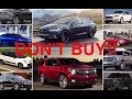 10 New Cars You Should NEVER Buy