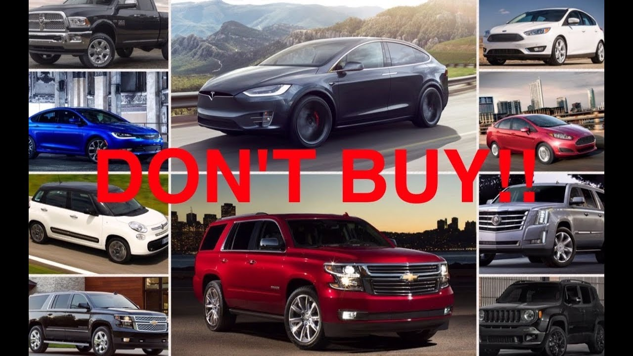 10 New Cars You Should NEVER Buy - YouTube