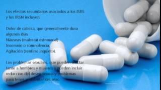 Medicina para la depresión, antidepresivos y sus efectos secundarios
