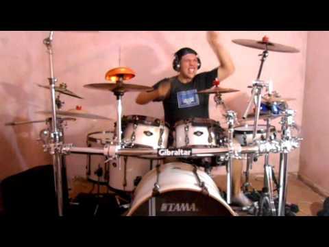 LP - Na Hora Da Raiva - Henrique e Juliano - Drum Cover HD (Novo audio)