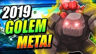 NEW SECRET GOLEM DECK IS DOMINATING LADDER!! NEW GOLEM META!