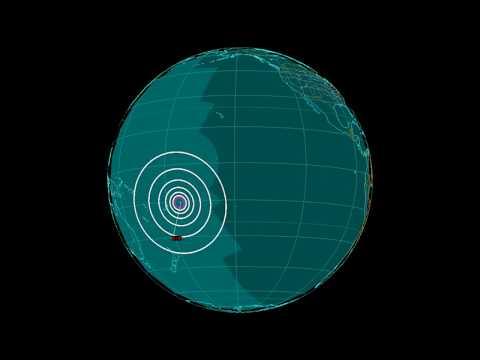 EQ3D ALERT: 11/4/17 - 6.8 magnitude earthquake in the South Pacific Ocean