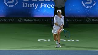 Muguruza d. Garcia - Dubai Tennis 2018 - QF WTA Highlights